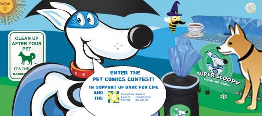 Scoopy Bag Pet Comics Contest