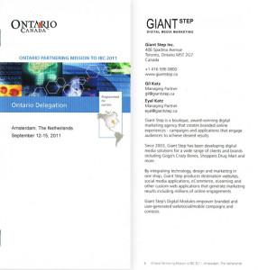 IBC Trade Mission Brochure