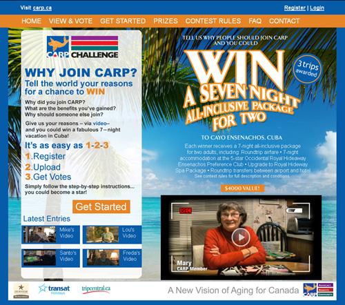 Zoomer Media's CARP Challenge