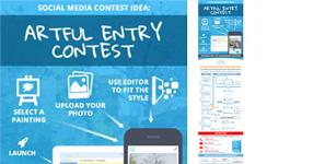 ComicReply-Social-Media-Contest-Idea-For-Art-Marketing-Infograhic-image