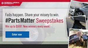#PartsMatter Auto Safety Contest