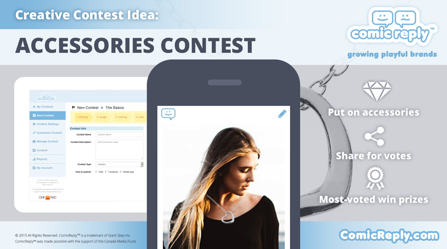 Accessories_Contest_ComicReply_social_media_platform
