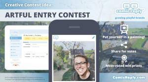Artful_Entry_Contest_ComicReply_social_media_marketing_platform