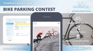 Bike_Parking_Contest_ComicReply_social_media_platform