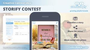 Book_Storify_Contest_ComicReply_social_media_platform