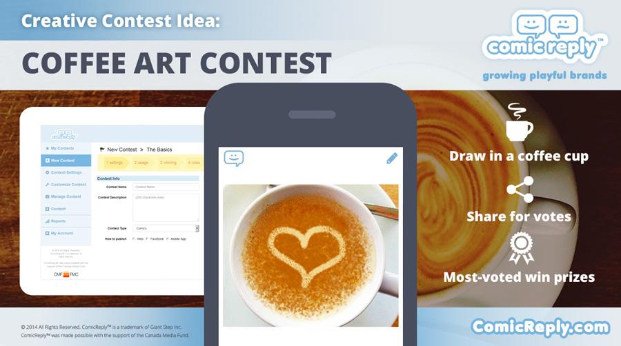 Coffee_Art_Contest-ComicReply_social_media_platform