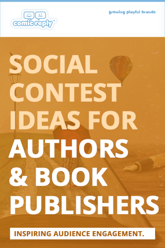 ComicReply_eBook_Social_Contest_Ideas_for_Authors_and_Book_Publishers