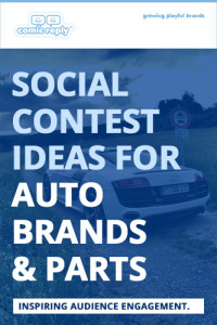 ComicReply_eBook_Social_Contest_Ideas_for_Auto_Brands_and_Parts
