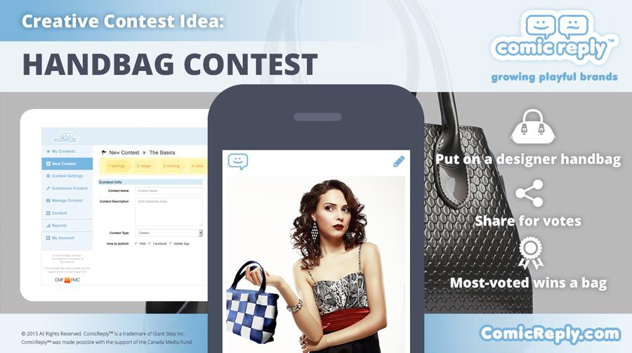 Designer_Handbag_Contest_ComicReply_social_media_platform