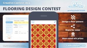 Flooring_Design_Contest_ComicReply_social_media_platform