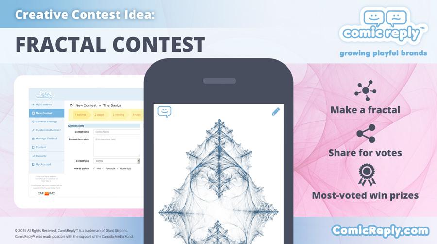 Fractal_Contest_ComicReply_social_media_platform