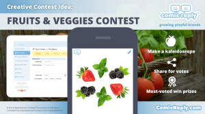 Fruits_and_Vegetables_Contest_ComicReply_social_media_platform