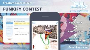 Funkify_Contest_ComicReply_social_media_platform