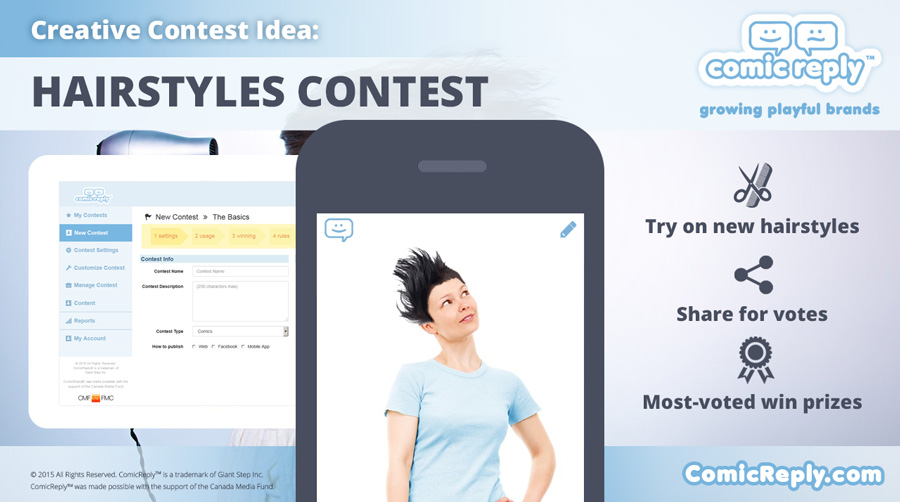 Hairstyles_Contest_ComicReply_social_media_platform