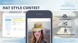 Hat_Style_Contest_ComicReply_social_media_platform