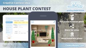 House-Plant_Contest_ComicReply_social_media_platform