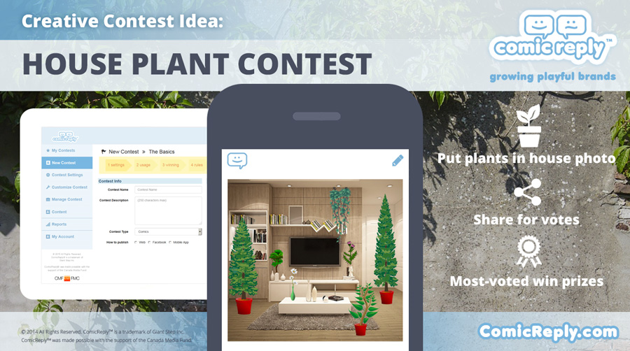 House-Plant_Contest_ComicReply_social_media_platform