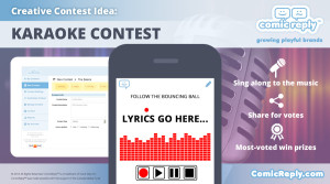 Karaoke_Contest_ComicReply_somic_media_platform