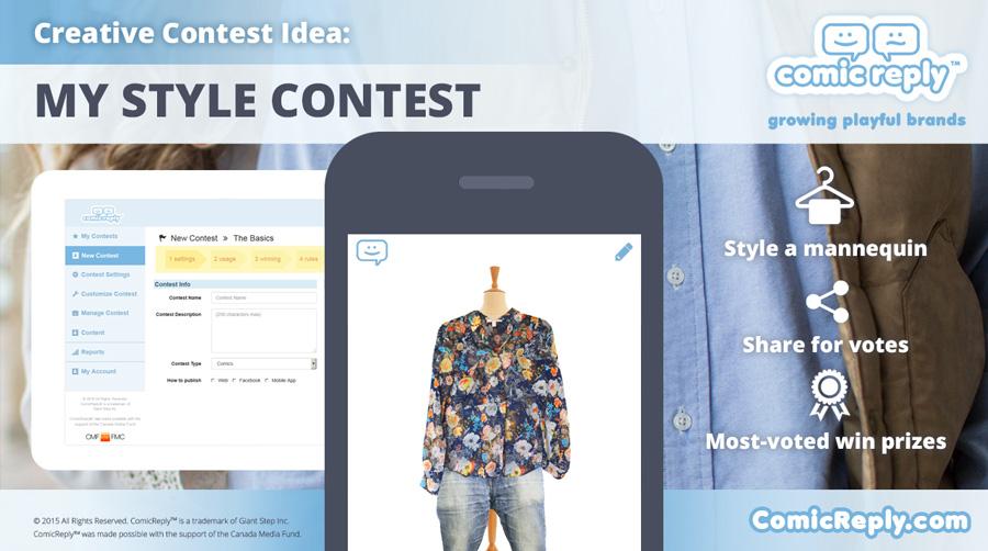 My_Style_Contest_ComicReply_social_media_platform