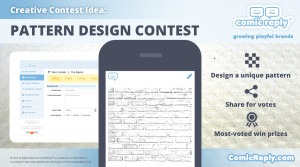 Pattern_Design_Contest_ComicReply_social_media_Platform