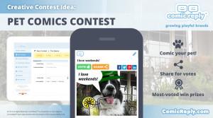 Pet_Comics_Contest_ComicReply_social_media_platform