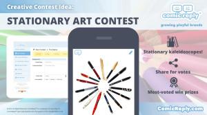Stationary_Contest_ComicReply_social_media_platform