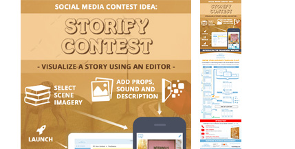 ComicReply-Social-Media-Contest-Idea-For-Art-Marketing-Infograhic-image