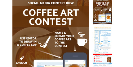ComicReply-Social-Media-Contest-Idea-For-Coffee-Marketing-Infograhic-image