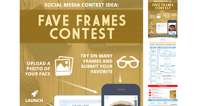 ComicReply-Social-Media-Contest-Idea-For-Eyecare-Marketing-Infograhic-image