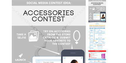 ComicReply-Social-Media-Contest-Idea-For-Fashion-Accessories-Marketing-Infograhic-image