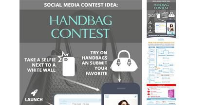 ComicReply-Social-Media-Contest-Idea-For-Fashion-Handbag-Marketing-Infograhic-image