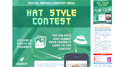 ComicReply-Social-Media-Contest-Idea-For-Fashion-Hat-Marketing-Infograhic-image