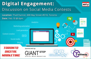 Toronto_Digital_Marketing_Meetup-Digital_Engagement-Discussion_on_Social_Media_Contests-ComicReply_GiantStep_ThatChannel